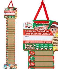 Naughty Elf Countdown Calendar