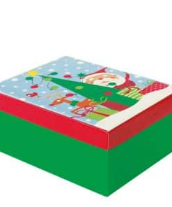 Oh What Fun Medium Christmas Gift Box