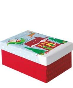 Oh What Fun Small Christmas Gift Box
