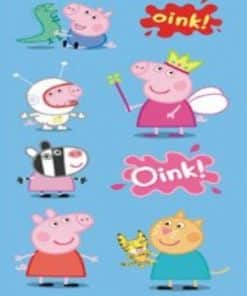 Peppa Pig Party Magnet Sheet