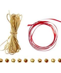 Red & Gold - Festive Wrap Kit Including Bells