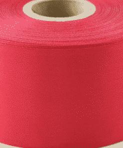 50m x Red Polyester Satin Ribbon