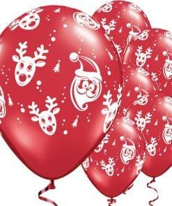 Santa & Rudolf Balloons