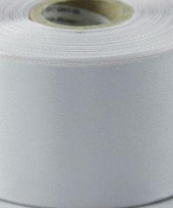 Silver Polyester Satin Ribbon