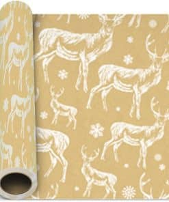 Traditional Christmas Gift Wrapping Paper