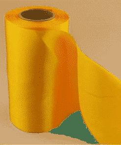 Yellow Polyester Satin Ribbon - 150mm