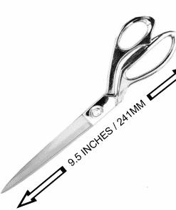silver 24cm Scissor with sizing