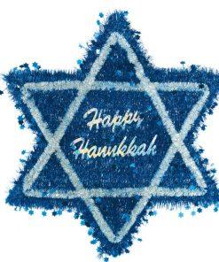 Hanukkah Tinsel Star of David