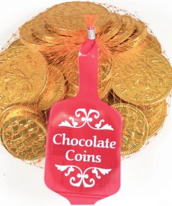 Large Net of 26 Individually Chocolate Gold Coins