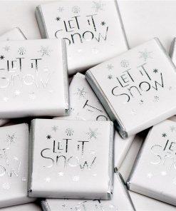 Let It Snow Chocolate Neapolitans