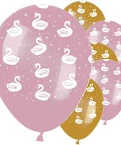 Lovely Swan Latex Balloons
