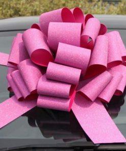 MEGA Glitter Pink Giant Gift Bow