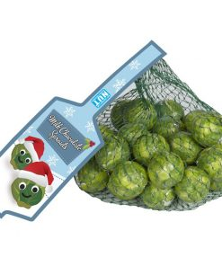Net of Solid Milk Chocolate Brussels Sprouts