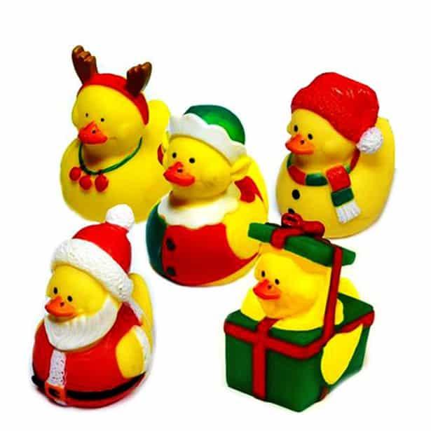 Christmas Duck.Small Christmas Duck 5cm