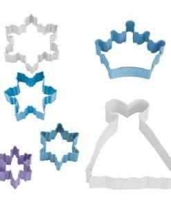 Snow Queen Cookie Cutter Set