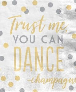 Trust Me You Can Dance Luncheon Napkin