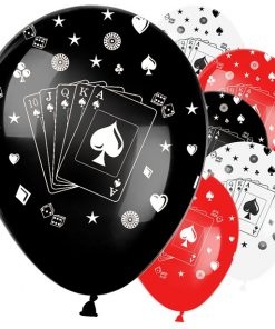 Casino Print Balloons