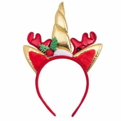 Christmas Unicorn Headband