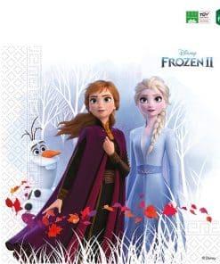 Disney Frozen 2 Party Compostable Paper Napkins