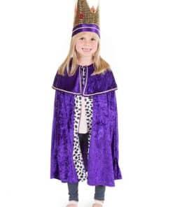 Purple Nativity King Child Costume