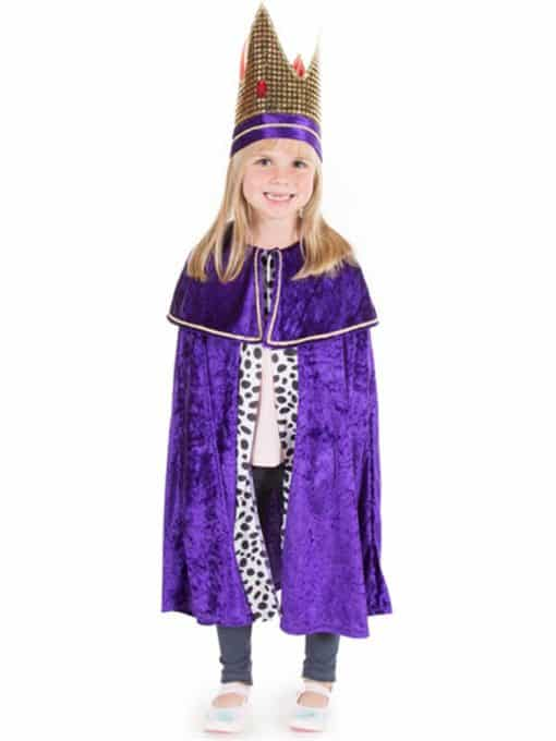 Purple Nativity King Child Costume