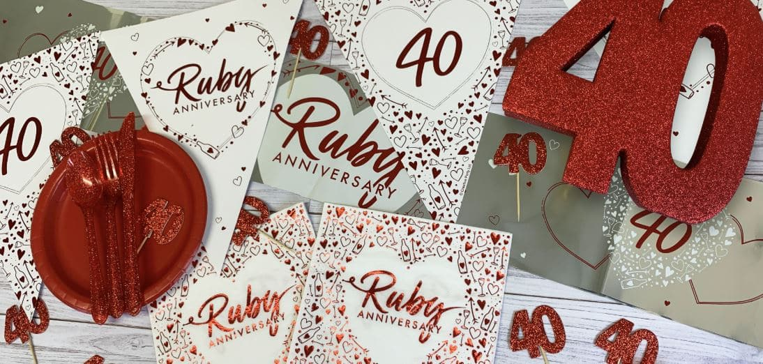 40th Anniversary Party Decorations