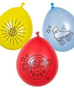 Disco Fever Printed Latex Balloons
