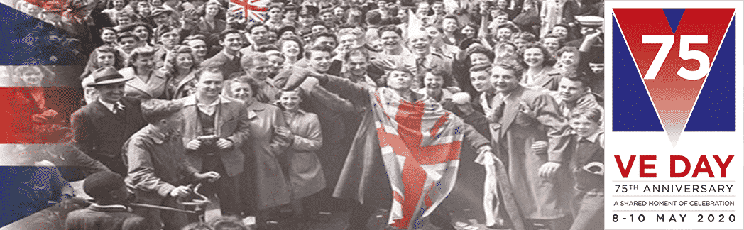 Ve Day Celebrations Street Party Supplies Bunting Flags & Disposable Tableware Cheapest online bulk discounts next day delivery