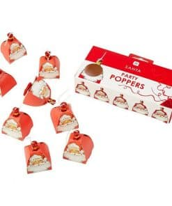 Father Christmas Santa Party Poppers