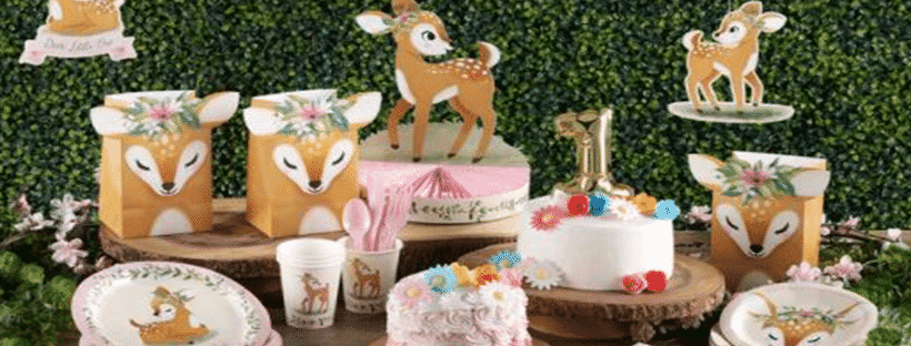 Deer Little One Party Decorations, 1st Birthday Party Ideas