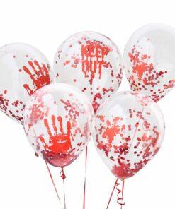 Halloween Printed Latex Balloons